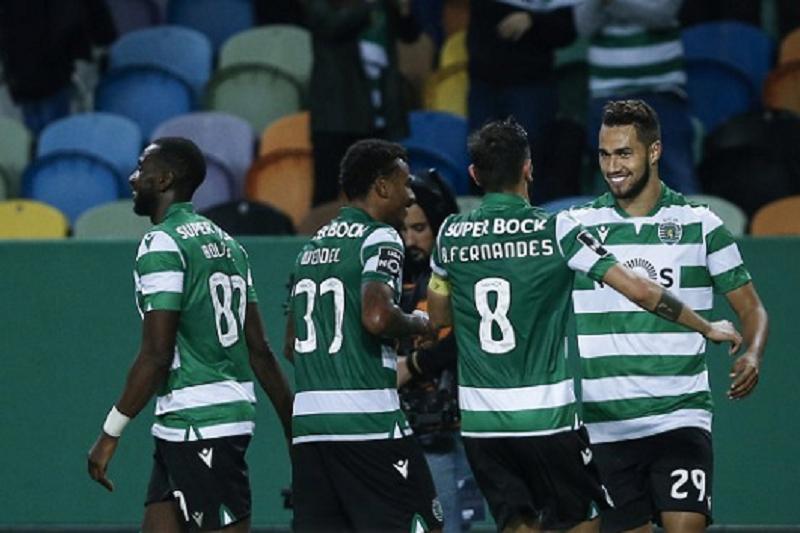 Sporting vence Moreirense e aproxima-se do Famalicão no terceiro lugar