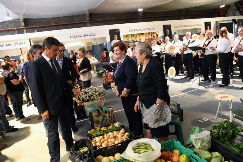 Comerciantes esperançosos no novo Mercado Municipal