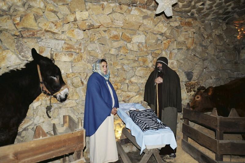 Presépio de Priscos abre portas hoje
