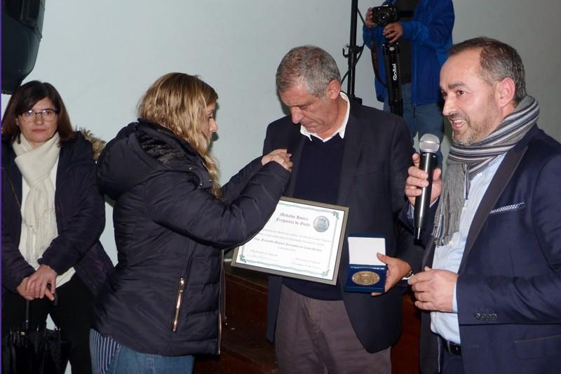 Fernando Santos visitou presépios de Garfe