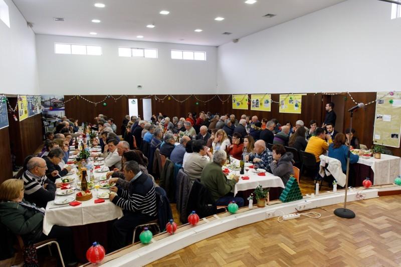 Junta de Pedralva promove almoço de Natal para seniores