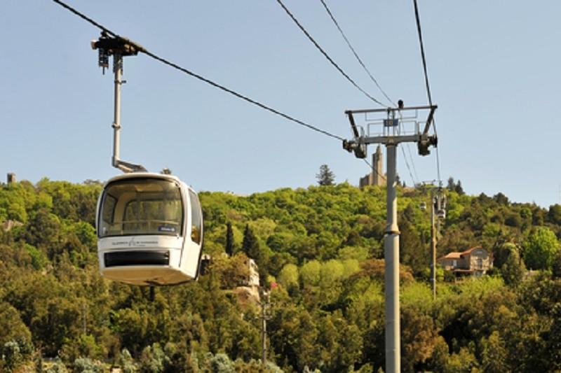 Teleférico de Guimarães parado até 12 semanas para trabalhos de manutenção