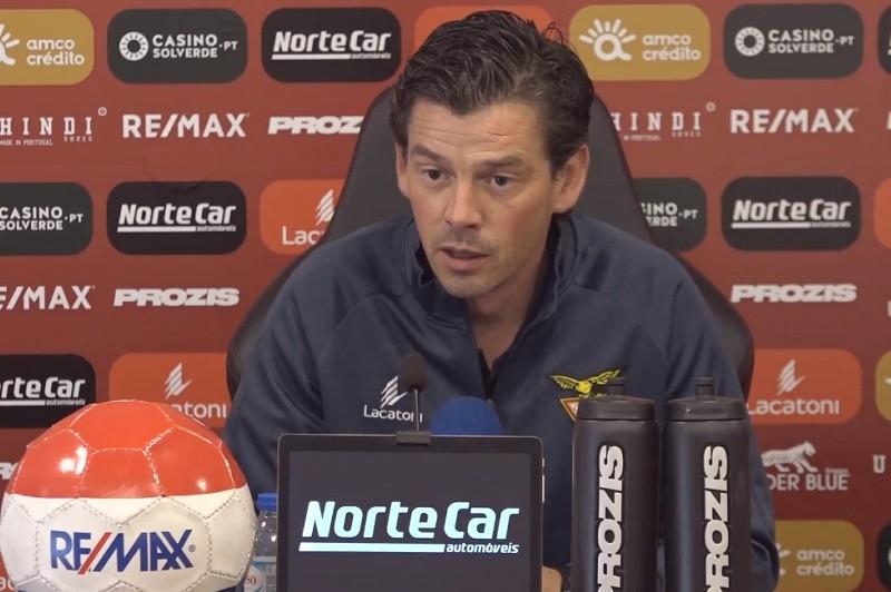 Nuno Manta atribui pressão ao despromovido Desportivo das Aves na visita a Braga