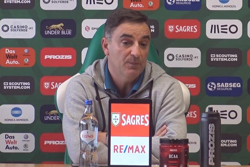 Carlos Carvalhal promete Rio Ave preparado para competir frente ao Paços de Ferreira