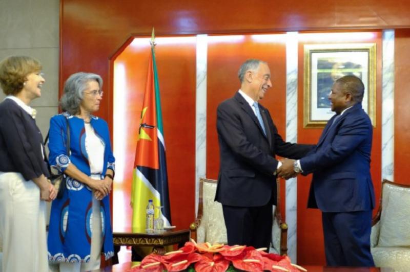 PR/Moçambique: Marcelo e Nyusi apelam ao reforço de investimento português