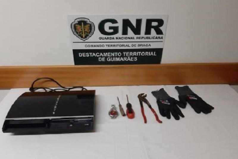 GUIMARÃES: GNR recuperou material furtado de uma residência
