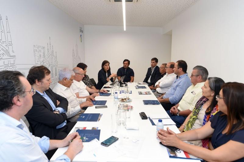 Juntas e InvestBraga articulam estratégias para dinamizar economia
