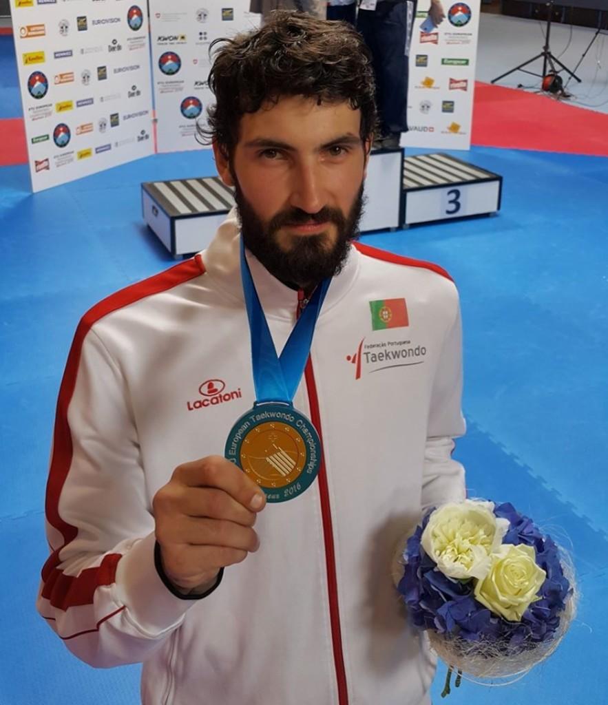 Júlio Ferreira conquista terceira medalha para Portugal nas Universíadas de Nápoles