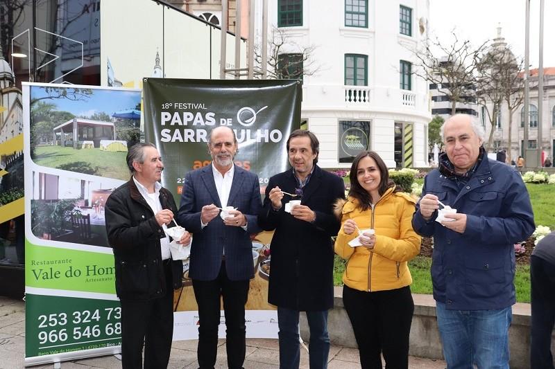 Braga foi montra para Amares promover o Festival das Papas de Sarrabulho