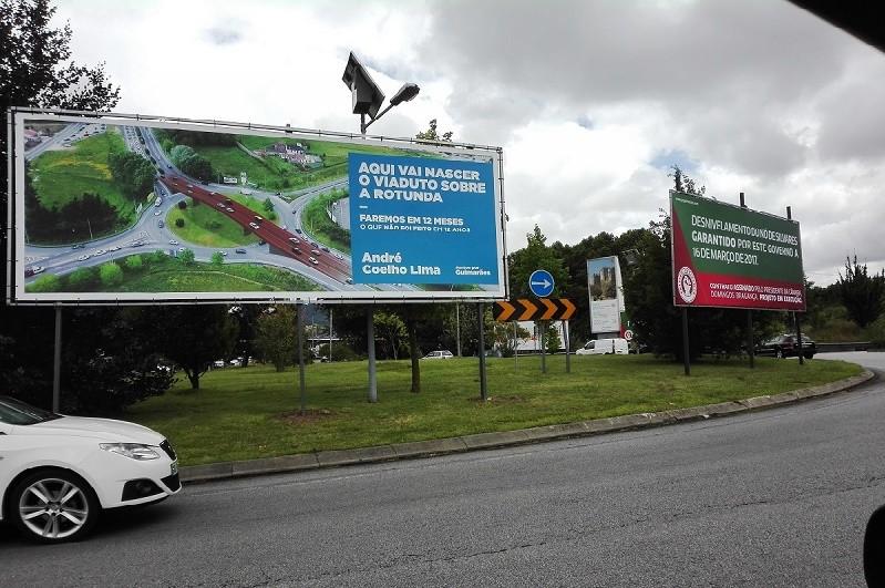 Desnivelamento da rotunda de Silvares em Guimarães pronto dentro de um ano