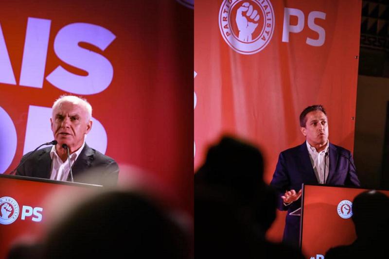 Joaquim Barreto e Ricardo Costa na corrida à Federação de Braga do PS