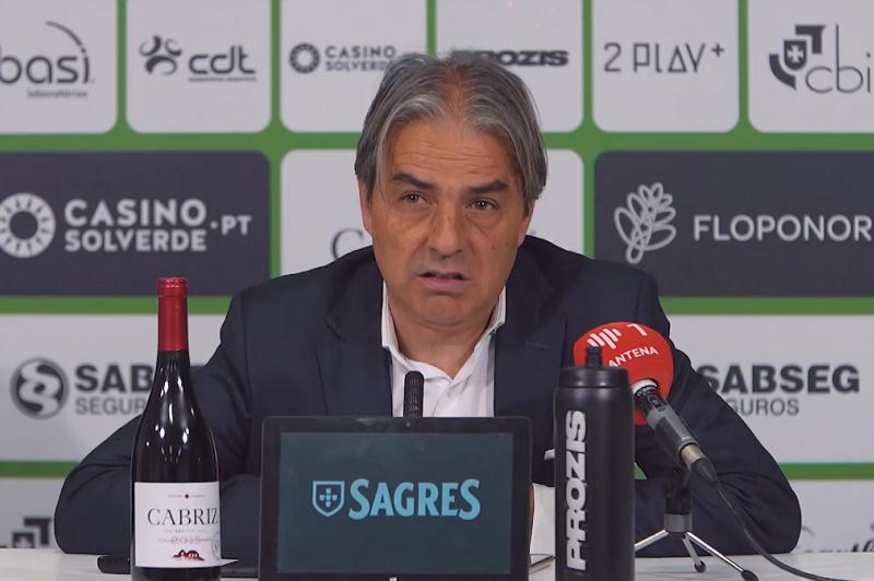 Treinador do Tondela diz que vai a Guimarães com otimismo