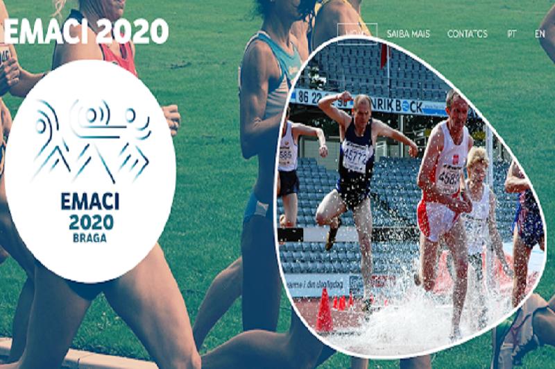 Campeonato Europeu de Atletismo EMACI em Braga adiado para janeiro de 2021