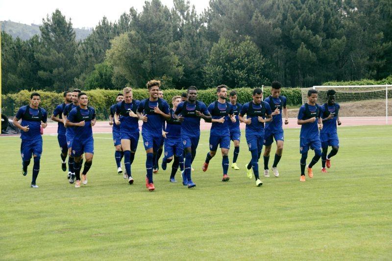 Gil Vicente empata 2-2 com Berço em jogo particular