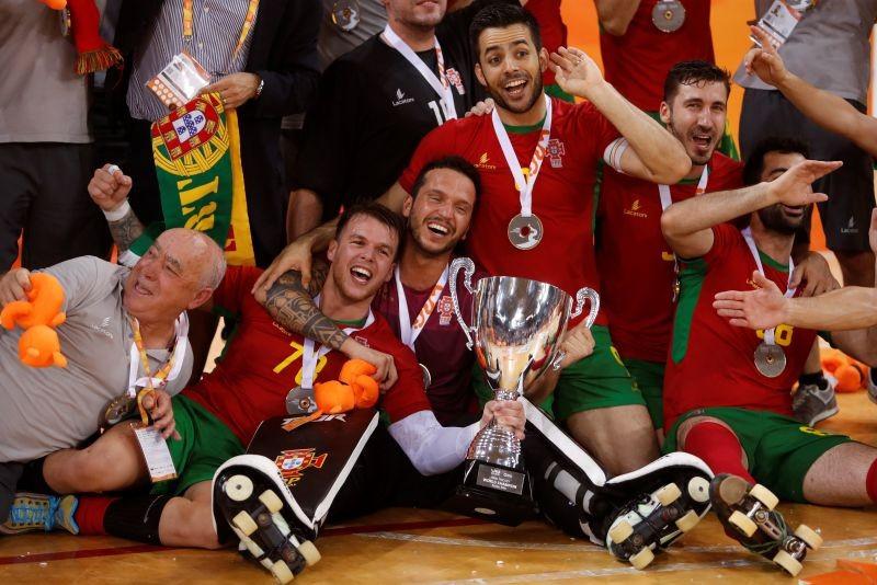 Hóquei/Mundial: Portugal conquista título mundial 16 anos depois