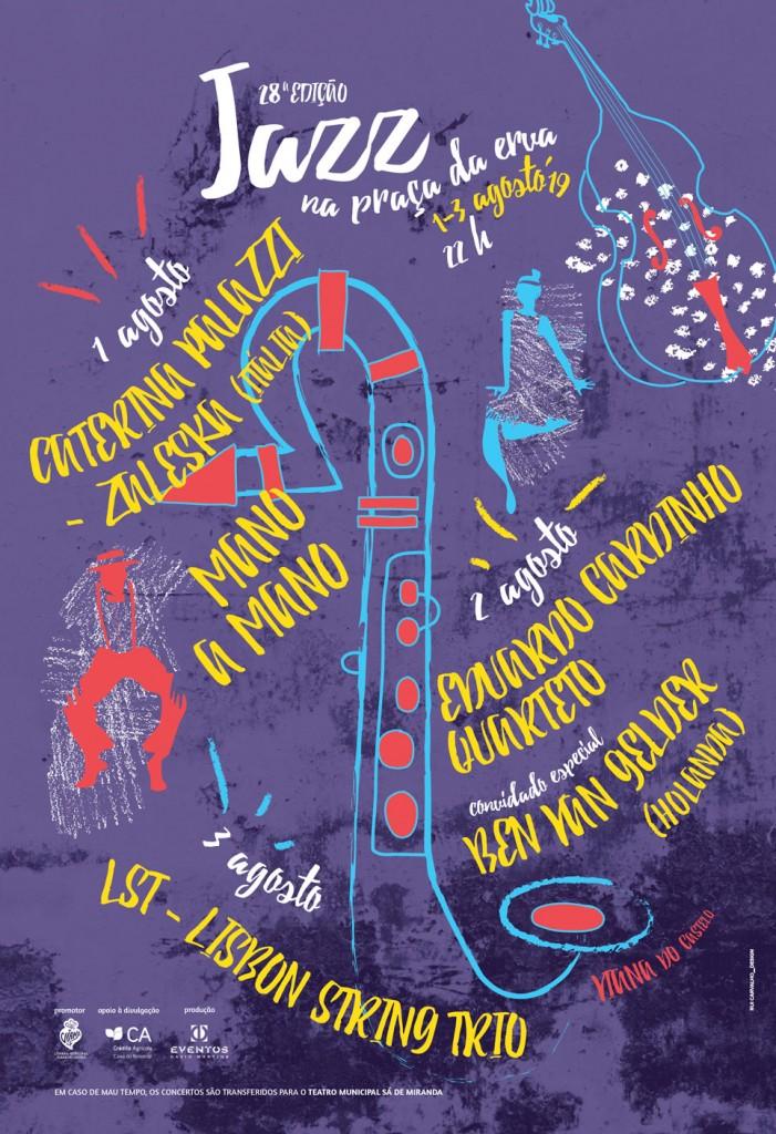 VIANA DO CASTELO: Festival apresenta jazz jovem de Portugal, Holanda e Itália