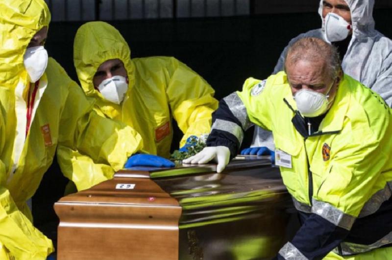 Covid-19: Itália regista mais 570 mortes e 1.396 novos casos de infeção