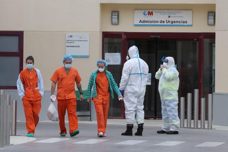 Covid-19: Espanha ultrapassou os 100.000 infetados e os 9.000 mortos