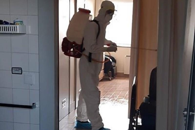 Covid-19: Bombeiros desinfetaram lar de idosos em Braga com dezenas de infetados