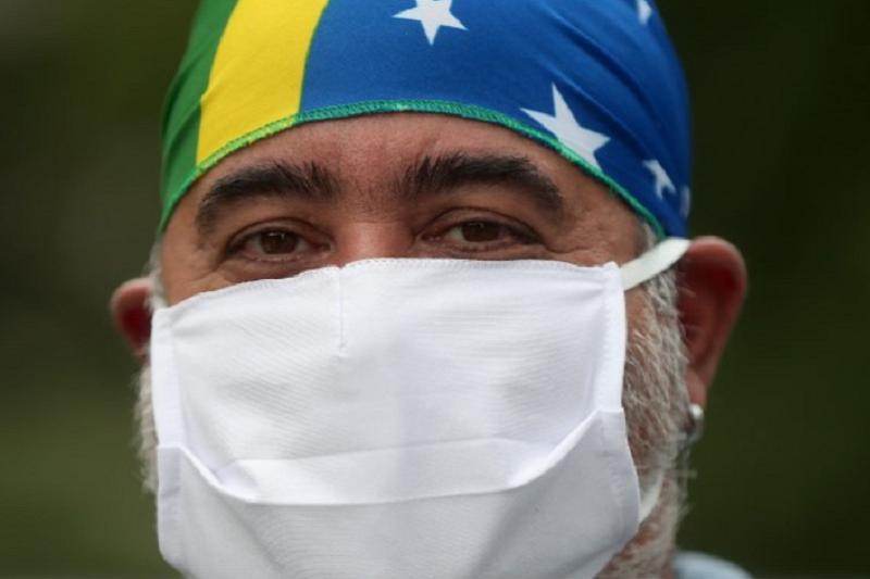 Covid-19: Brasil regista recorde diário de 600 mortes e totaliza 7.921 óbitos