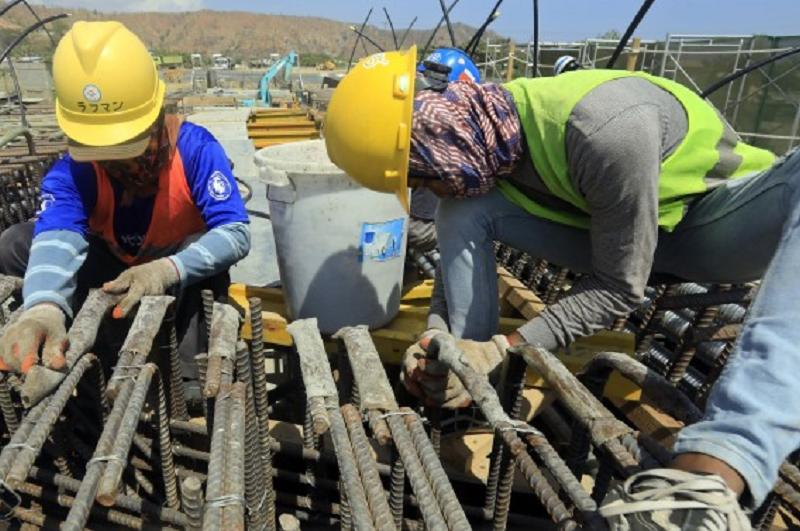 Produção na construção recua em fevereiro na zona euro e sobe em Portugal