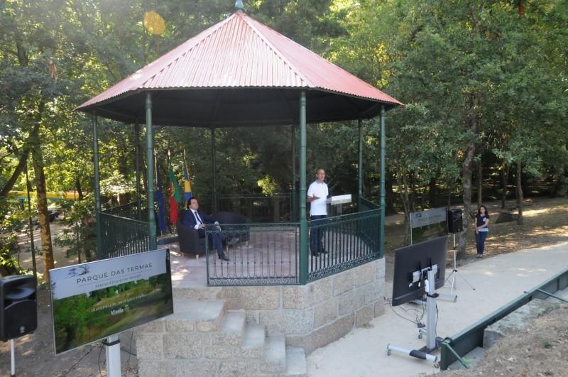 Monte do Parque das Termas já tem outra vista e convida à fruição