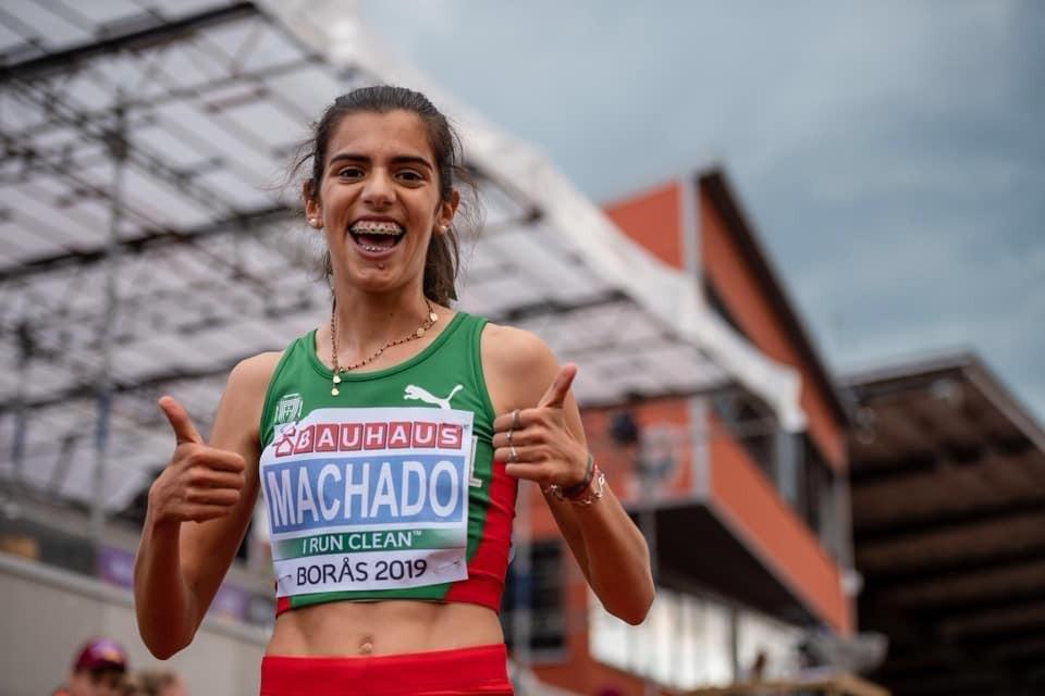 Mariana Machado vice-campeã europeia de sub-20 nos 3.000 metros