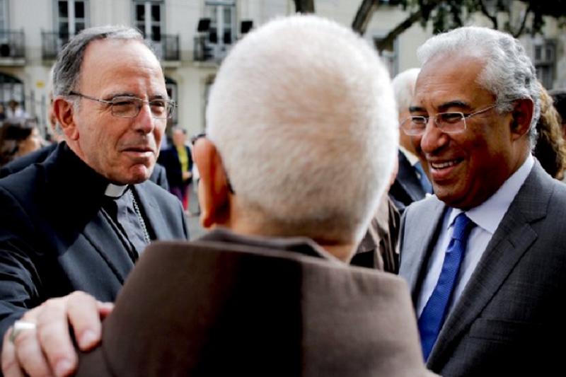 Covid-19: Costa vai preparar com patriarca de Lisboa levantamento de restrições a celebrações religiosas