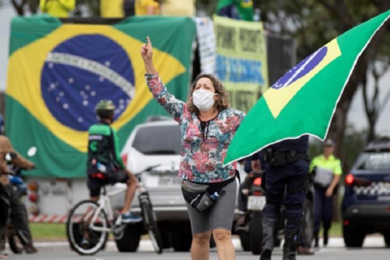Covid-19: Brasil ultrapassa os 40 mil casos casos confirmados e tem 2.575 mortes