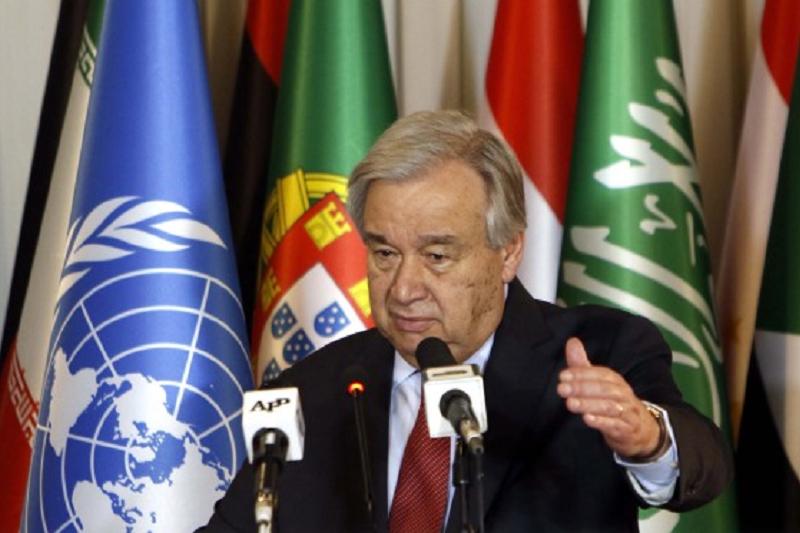 Guterres propõe à comunidade internacional seis ações para se salvar o planeta
