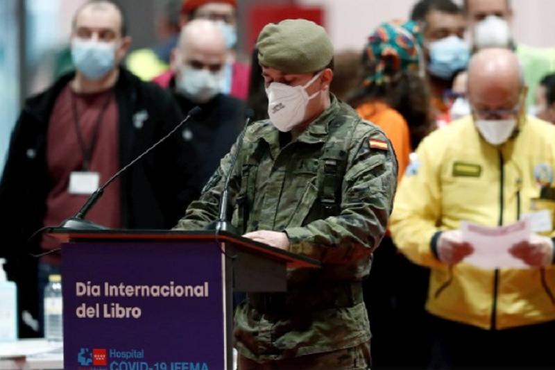 Covid-9: Espanha com ligeira subida diária de mortes para 378