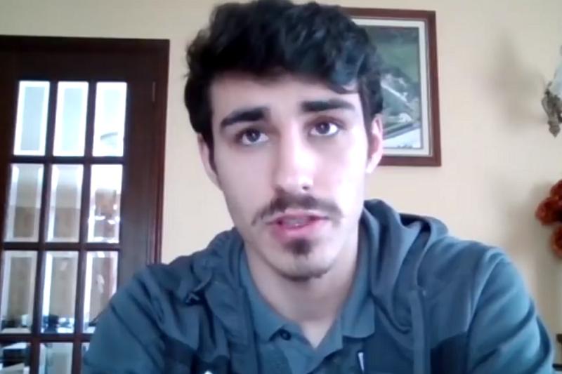 André Almeida crê que pode ser futuro capitão do Vitória de Guimarães