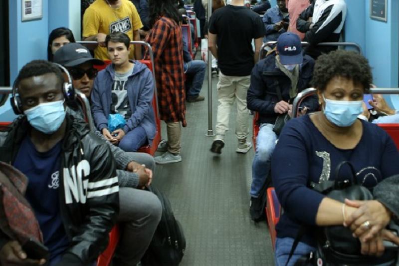Covid-19: Coima mínima de 120 euros para quem não usar máscaras nos transportes públicos