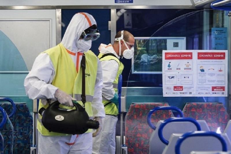 Covid-19: CP já realizou cerca de 20 mil ações de desinfeção nos comboios