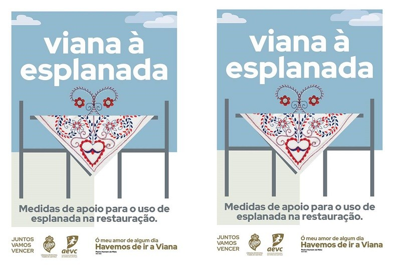 Covid-19: Viana do Castelo quer promover comércio e restauração com novas esplanadas na rua