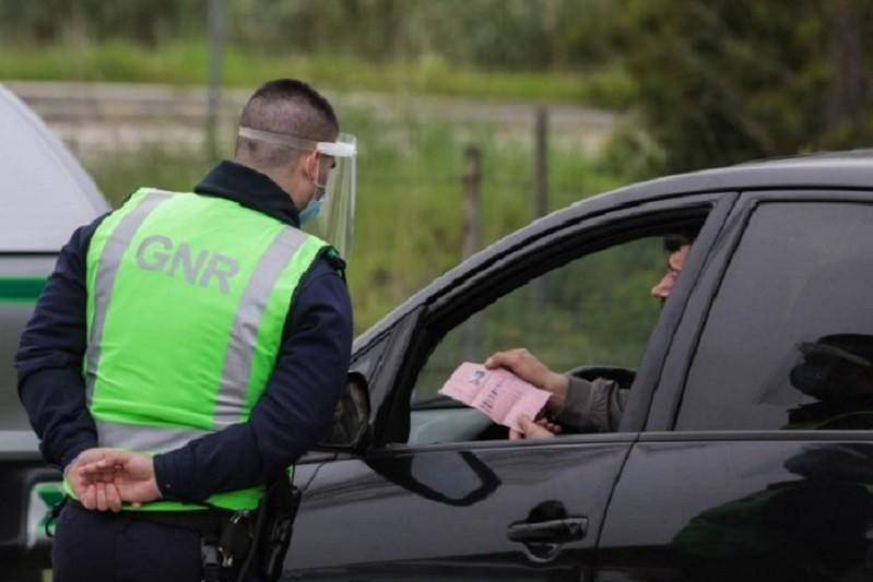 GNR deteve 202 pessoas na última semana em todo o país