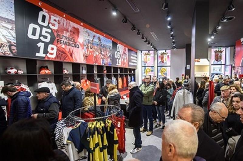 Covid-19: Sporting Clube de Braga compensa sócios com 'voucher' nas lojas do clube