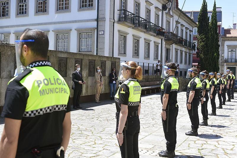 Polícia Municipal de Braga com mais 15 agentes