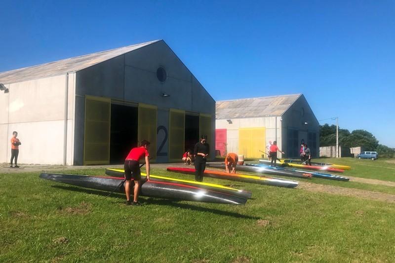 Darque Kayak Clube aumenta número de atletas em treino