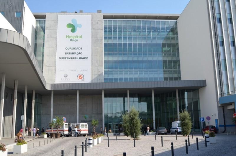 Hospital de Braga sem doentes internados por COVID-19.