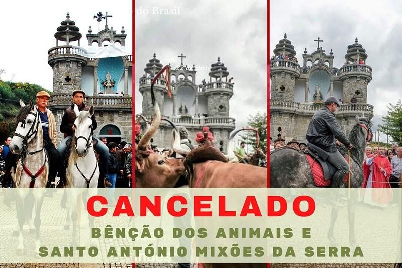 Vila Verde: Canceladas a festa em honra de Santo António de Mixões da Serra e a bênção dos animais