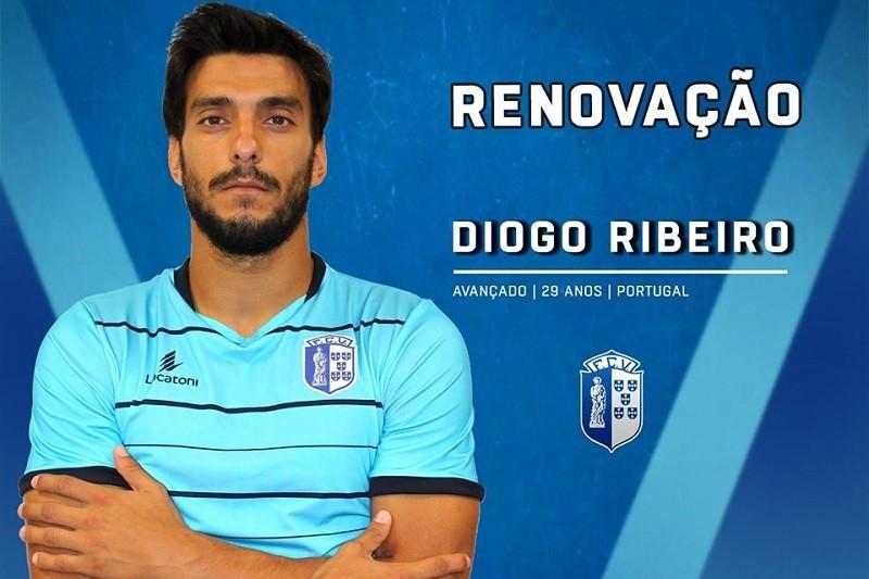 Vizela garante continuidade do goleador Diogo Ribeiro