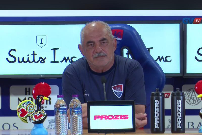 Vítor Oliveira quer subir nível exibicional para devolver Gil Vicente aos triunfos