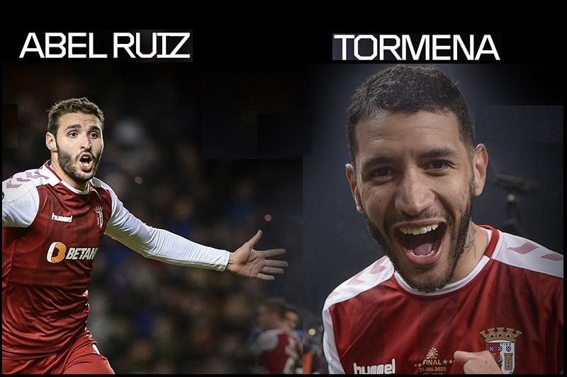 Abel Ruiz e Tormena falham jogo do Sporting Clube de Braga com Santa Clara