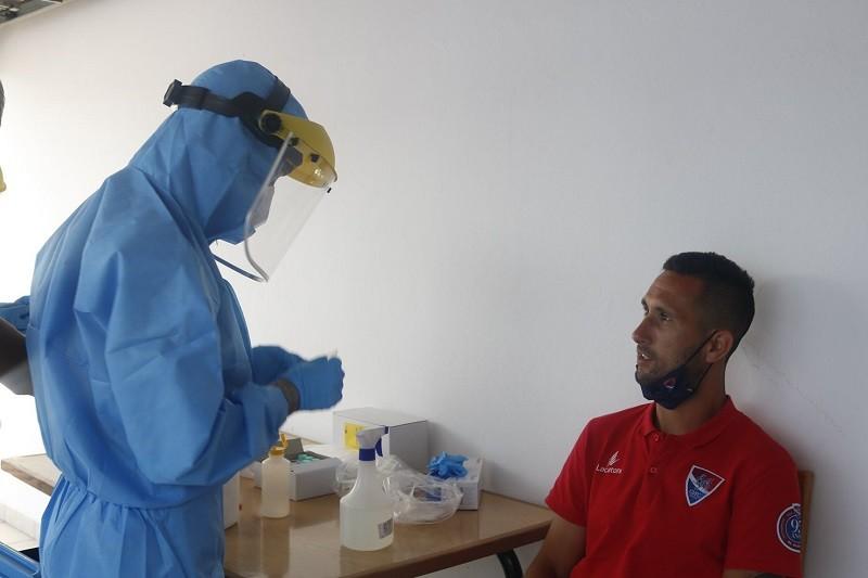 Covid-19: Gil Vicente repete testes negativos na véspera de visitar Portimonense