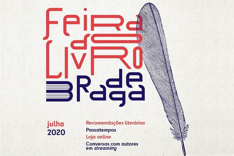 Feira do Livro de Braga em versão digital arranca amanhã
