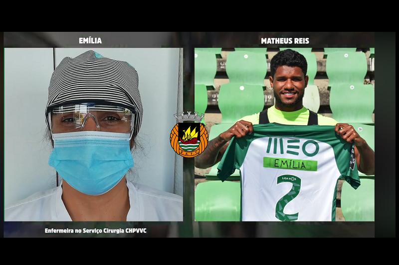 Covid-19: Rio Ave homenageia profissionais de saúde nas camisolas de jogo