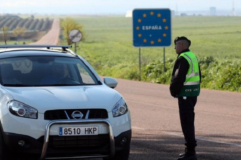 Covid-19: Mais quatro pontos de passagem na fronteira com Espanha