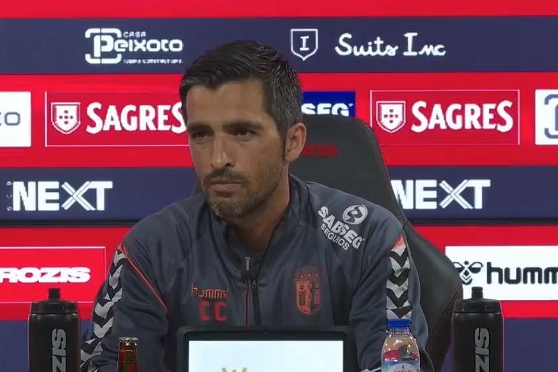 Problema defensivo do Sporting Clube de Braga é coletivo, diz Custódio Castro