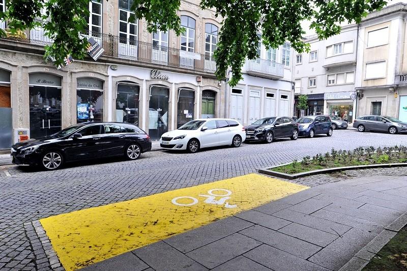 Município de Braga instala lugares de estacionamento reservados a motociclos